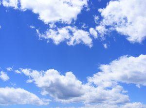 Голубе небо